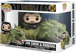 Jon Snow and Rhaegal (Pop Rides) Vinylfiguur 67