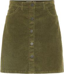 Sunny Short Corduroy Skirt
