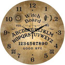 Glazen Wandklok Ouija