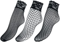 3-Pack of Mesh Socks