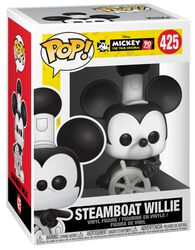 Mickey's 90th Anniversary - Steamboat Willie Vinylfiguur 425