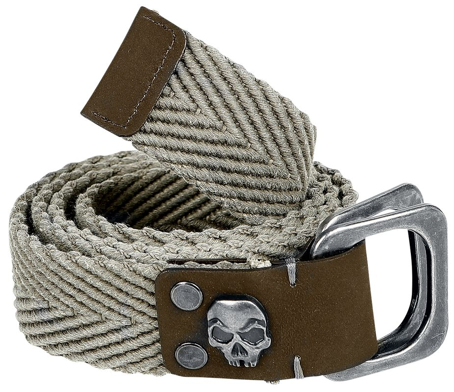 Belt with Skull Detail