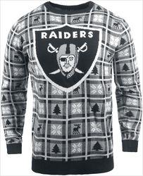 Oakland Raiders Crew Neck Sweater