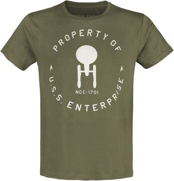 Property Of U.S.S. Enterprise