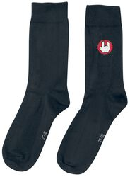 Black Socks with EMP Logo