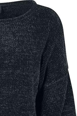 Ladies Oversized Chenille Sweater