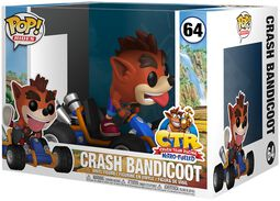 Crash Bandicoot POP Rides Vinylfiguur 64