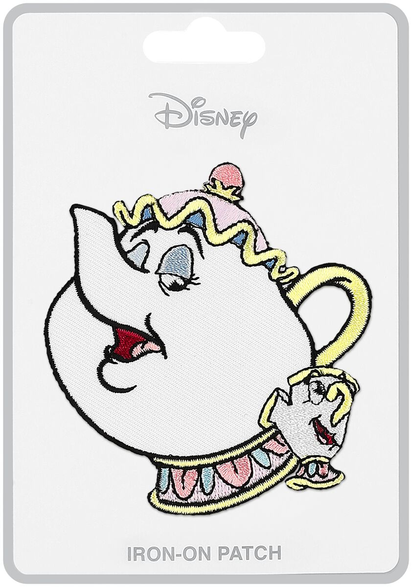 Loungefly Mrs Potts Chip Beauty And The Beast Patch Large