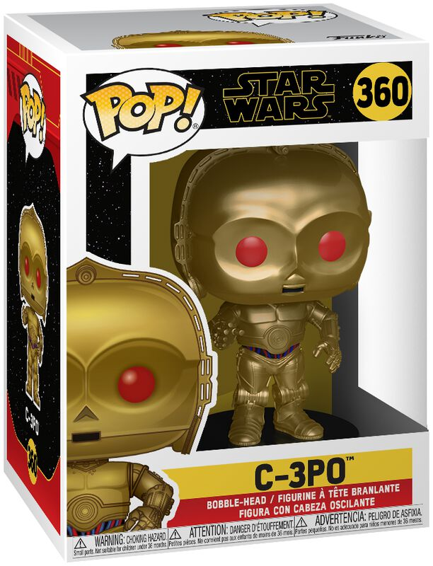 Episode 9 - The Rise of Skywalker - C-3PO Vinylfiguur 360