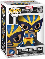 El Animal Indestructible - Marvel Luchadores - Vinylfiguur 711