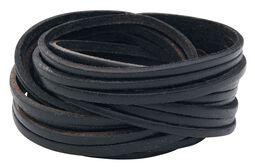 Large Leather String Bracelet