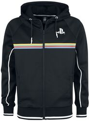 Playstation Color Stripe Print