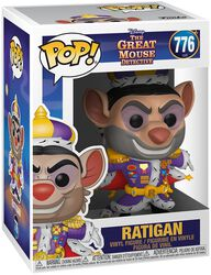Basil the Great Mouse Detective Ratigan Vinylfiguur 776