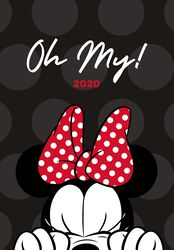 Minnie Mouse 2020 A5 agenda