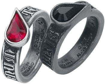 Twin Heart Promise Rings