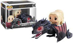 Daenerys Targaryen & Drogon Vinylfiguur 15