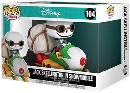 Jack Skellington in Snowmobile (POP Rides) Vinyl Figuur 104