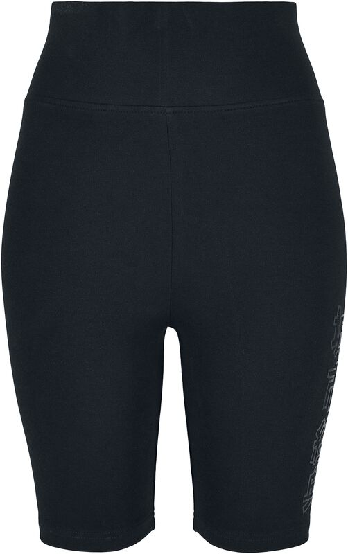 Ladies High Waist Branded Cycle Shorts
