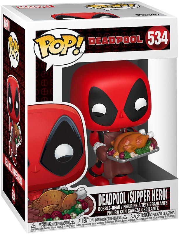 Deadpool (Supper Hero) (Holiday) - Vinylfiguur 534