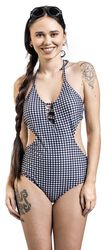 Checkered Swimsuit