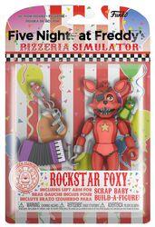 Pizza Simulator - Rockstar Foxy Actiefiguur