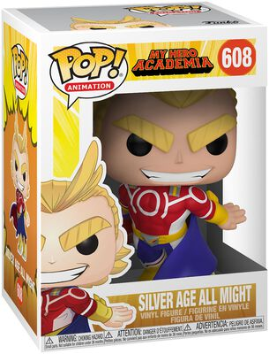 Silver Age All Might Vinylfiguur 608