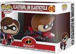 2 - Elastigirl on Elasticycle Vinylfiguur 45