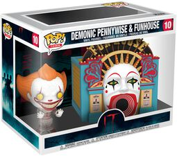 Chapter 2 - Demonic Pennywise & Funhouse (Pop! Town) Vinylfiguur 10