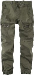 Malcolm Curved Leg Cargo Pants