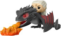 Daenerys and Fiery Drogon POP Rides Vinylfiguur 68