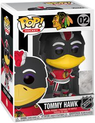 NHL Mascots Chicago Blackhawks - Tommy Hawk - Vinylfiguur 02