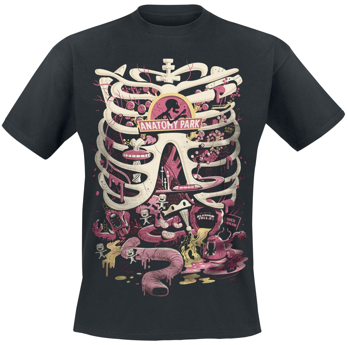 Anatomy Park | Rick And Morty T-shirt | Large