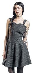 Miss Morbid Tartan Overall Dress