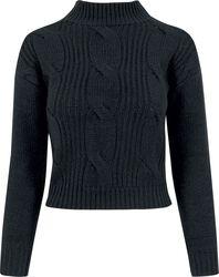 Ladies Short Turtleneck Sweater