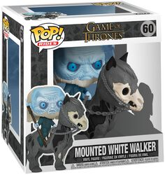 Mounted White Walker POP Rides Vinylfiguur 60