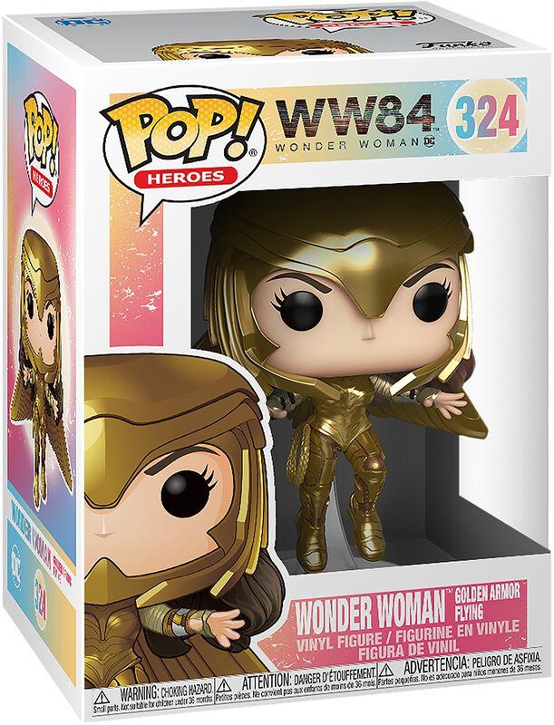 1984 - Wonder Woman Golden Armor Flying Vinylfiguur 324