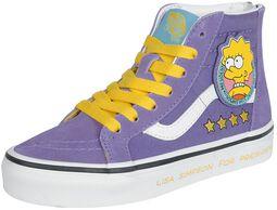 The Simpsons - Lisa 4 Prez SK8-Hi Zip