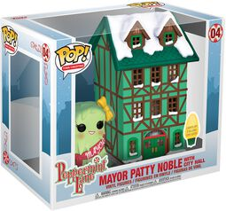 Holiday - Mayor Patty Noble with City Hall (Pop! Town) Vinylfiguur 04