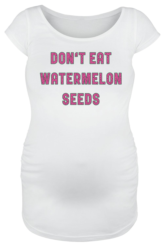 Grappige Zwangerschapskleding.Don T Eat Watermelon Seeds Positiekleding T Shirt Large