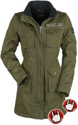 Ladies Field Jacket incl. handwarmer