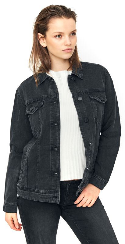 Ole Black Denim Jacket