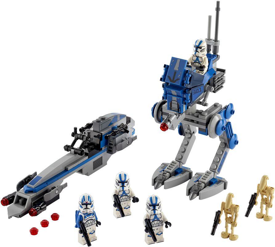75280 - 501st Legion Clone Troopers