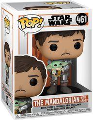The Mandalorian - The Mandalorian with Grogu Vinyl Figuur 461
