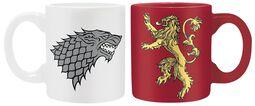 Stark & Lannister - Set Espressokopjes