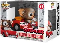 Gizmo in red car POP Rides Vinylfiguur 71