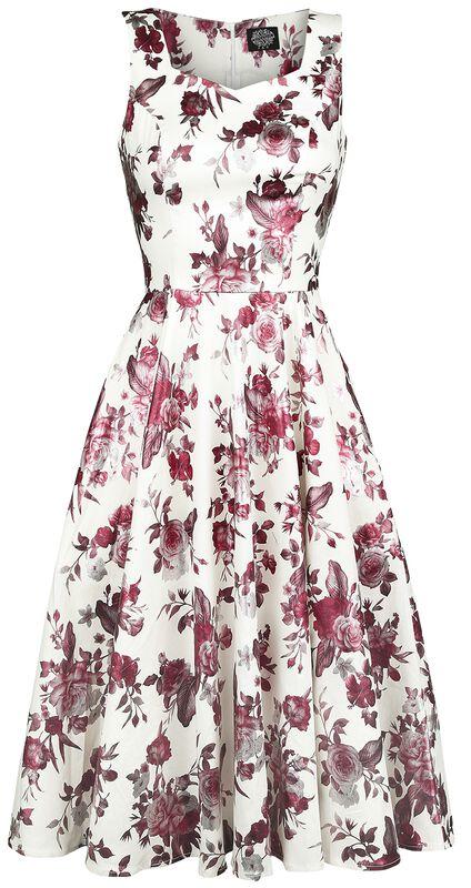 Aphrodite Metallic Swing Dress