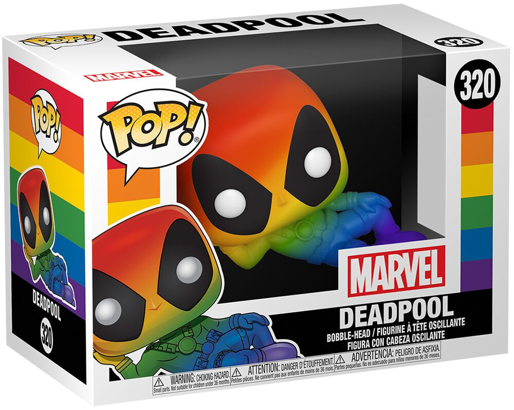 Pride 2020 - Deadpool (Rainbow) Vinylfiguur 320