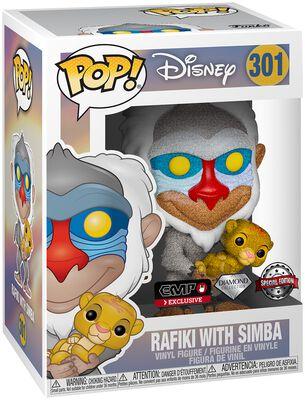 Rafiki with Simba (Glitter) Vinylfiguur 301