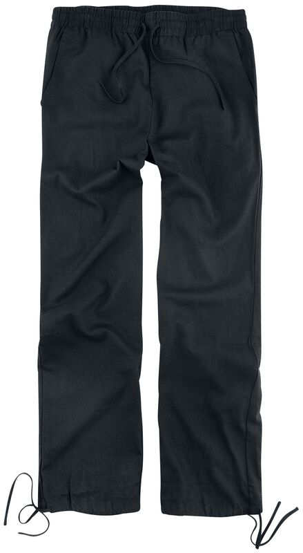 Black Trousers Made From Light Material