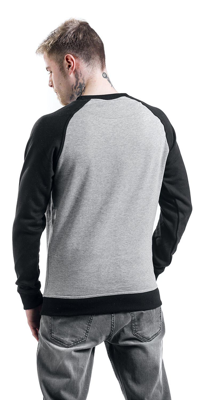 2-Tone Raglan Crewneck | Urban Classics Sweatshirts | Large